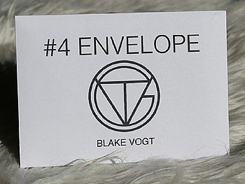Number 4 Envelope by Blake Vogt (Gimmicks and Online Instructions)
